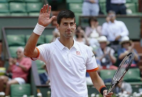 Novak Djokovic moves into the fourth round of the French Open