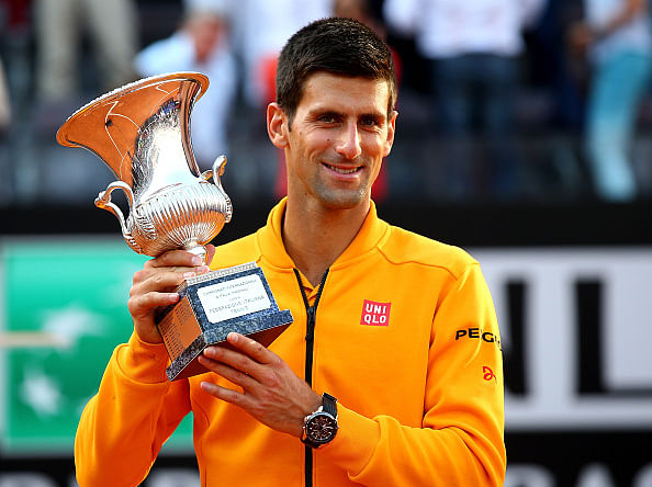 Novak Djokovic beats Roger Federer to win his fourth Rome Masters title