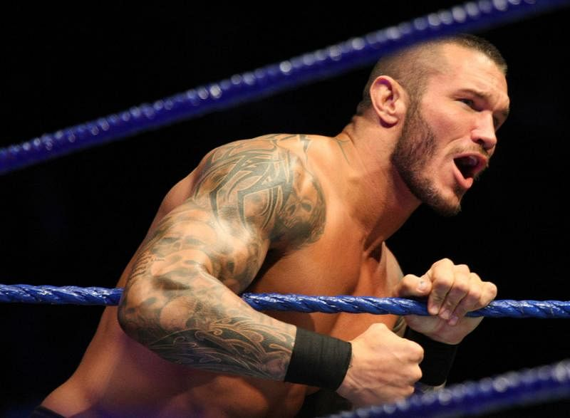 Randy Orton at the final match at Nassau Coliseum, works after Raw goes off-air