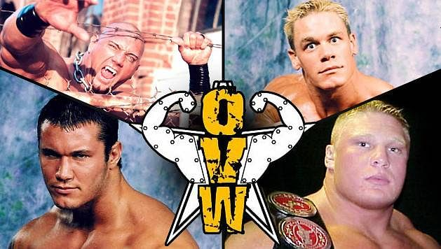 Batista, Lesnar, Cena, Orton & Benjamin - OVW class: 1999-2000