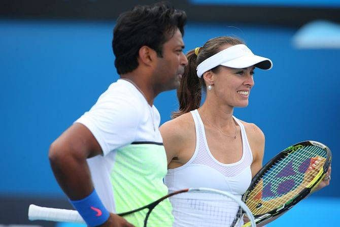 French Open: Leander Paes wins, Rohan Bopanna loses in mixed doubles