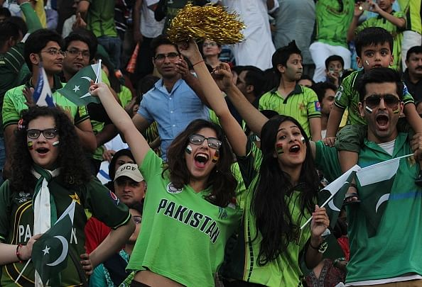 Pakistan fans turn up in large numbers for cricket's return