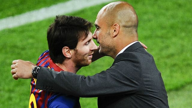 I haven't spoken to Pep Guardiola since he left Barcelona, says Lionel Messi