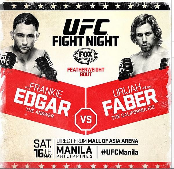 UFC Fight Night 66 - Edgar vs. Faber : Review and Results