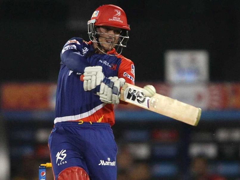 Delhi Daredevils batsman Quinton de Kock fined for umpire dissent