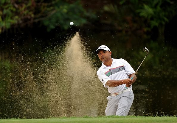 Rahil Gangjee drops to tied 36th in Mauritius Open