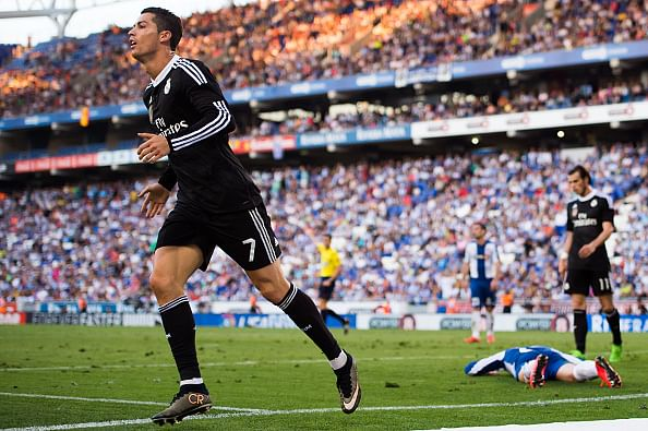 Real Madrid cruise to 4-1 victory over Espanyol on Cristiano Ronaldo hat-trick
