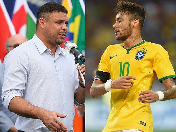 Ronaldo: Neymar is playing great and I hope he surpasses me