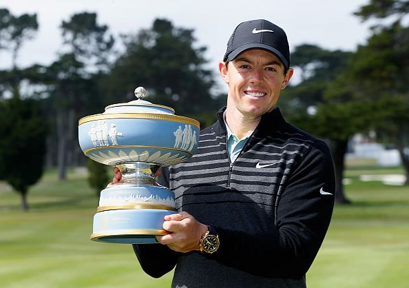 Rory McIlroy wins World Golf Championship
