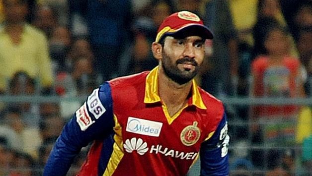 Royal Challengers Bangalore wicketkeeper Dinesh Karthik fined
