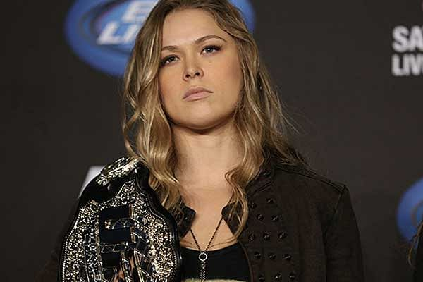 Comedian David Spade says Ronda Rousey in WWE is a step backwards for her