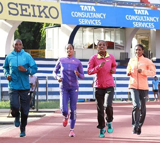 The World's best runners set to grace Bangalore Roads