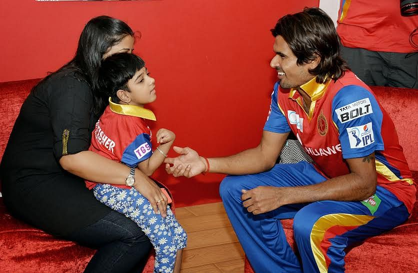 Special needs children earn the unique chance to meet RCB heroes