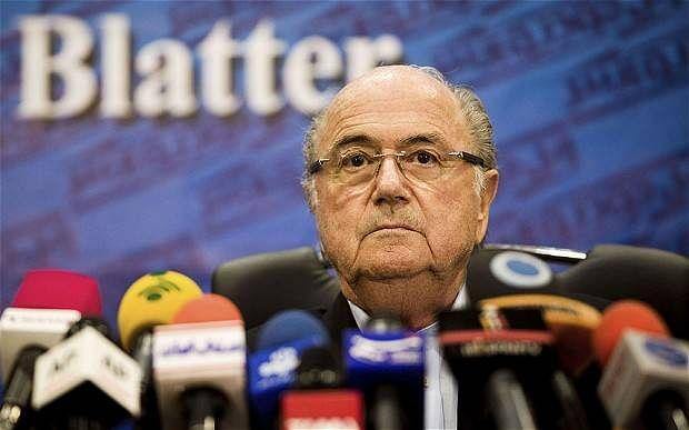 Sepp Blatter re-elected FIFA president as Prince Ali bin al-Hussein withdraws