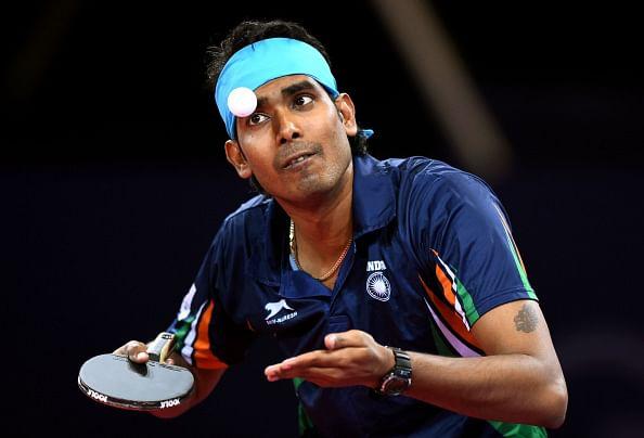 Indian paddler Achanta Sharath Kamal jumps eight spots to world number 32
