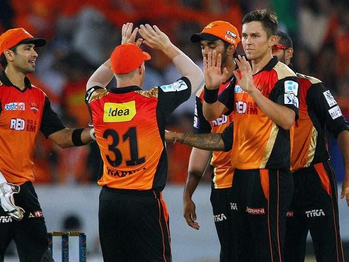2 points too less for the Sunrisers
