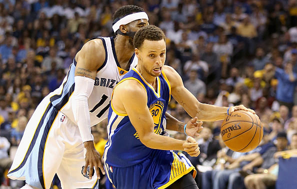 NBA Playoffs: Golden State Warriors beat Memphis Grizzlies to take the lead