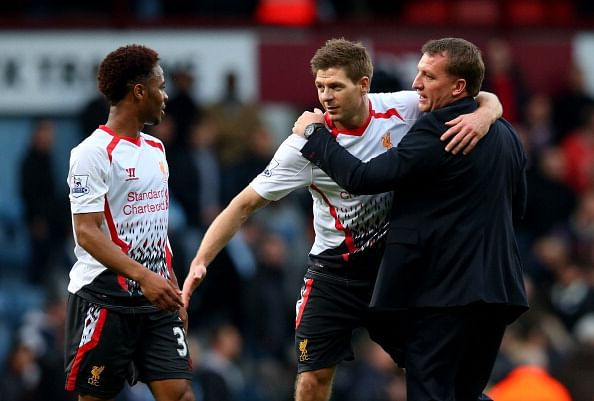 Steven Gerrard urges Raheem Sterling to stay with Liverpool