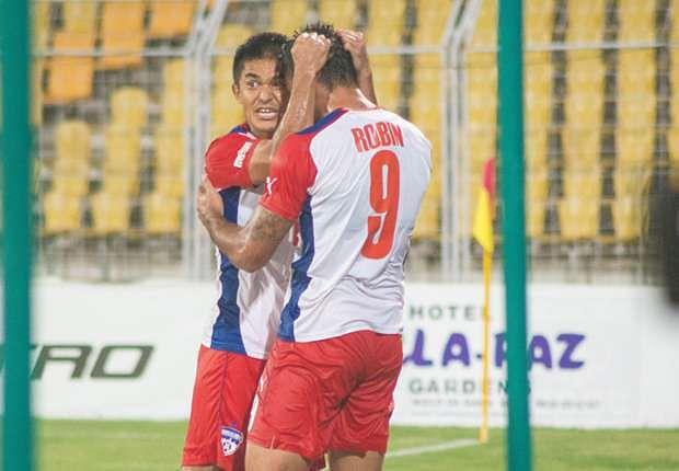 Bengaluru FC forwards Sunil Chhetri and Robin Singh to feature in ISL 2015