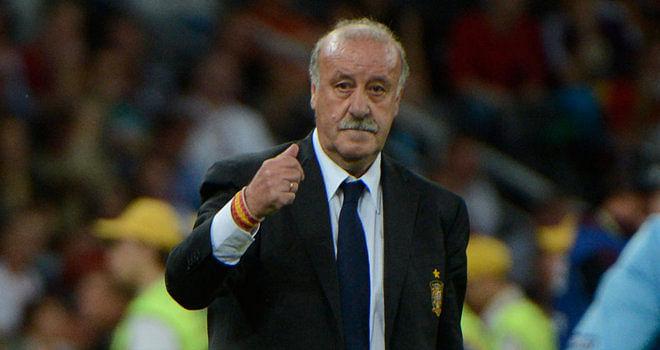 Vicente del Bosque wants an all-Spanish Champions League final
