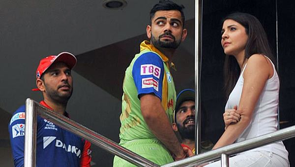 RCB's Virat Kohli receives unofficial warning for breaking protocol during rain-washed DD match