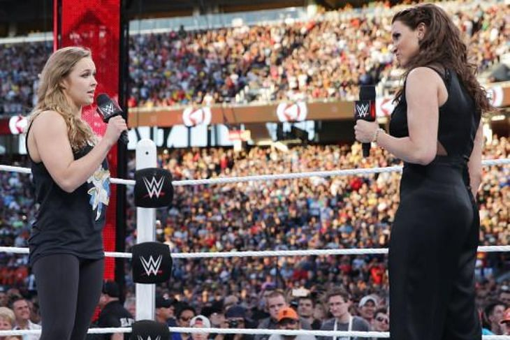 Ronda Rousey on her WWE future, Wrestlemania moment, more