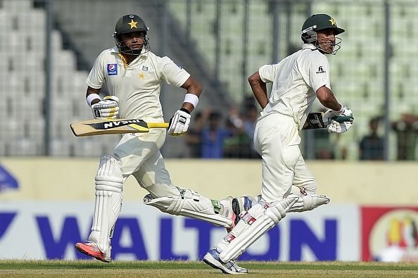Younis Khan, Azhar Ali help Pakistan dominate first day against Bangladesh