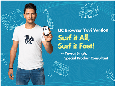 UC Browser announces appointment of Yuvraj Singh as Special Cricket Product Consultant and Brand Ambassador