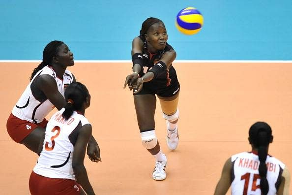 Kenyan women volleyballers breeze to Africa title