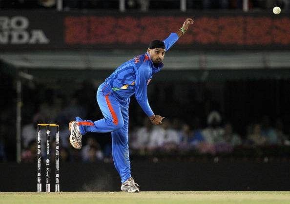 Harbhajan Singh back in blue jersey