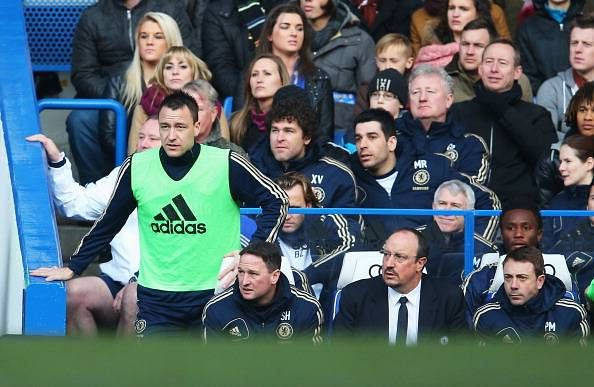 Frank Lampard says that Rafael Benitez got it wrong about John Terry
