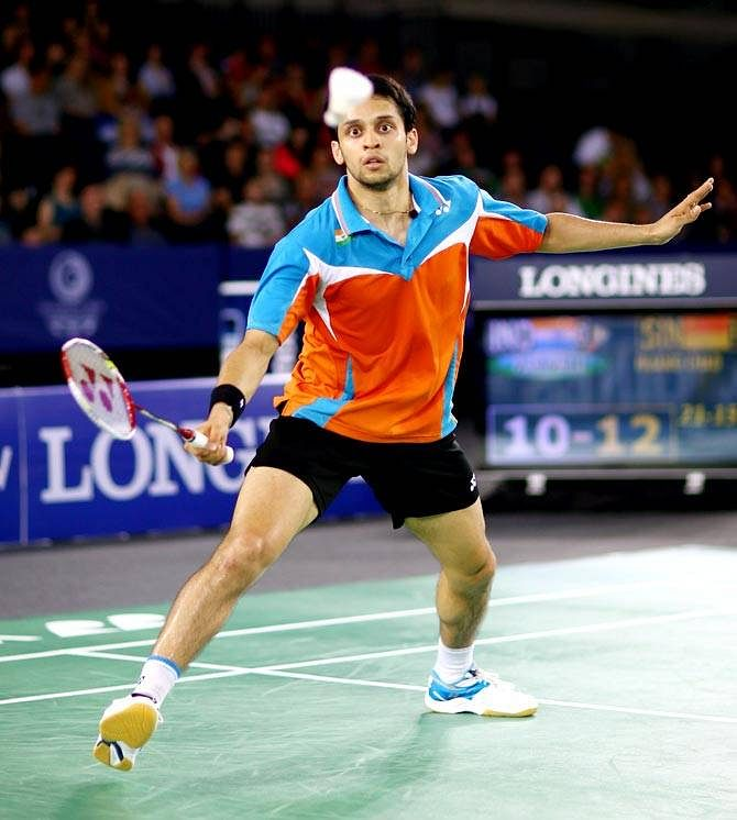 Indonesia Open: Parupalli Kashyap stuns Chen Long to reach semifinals