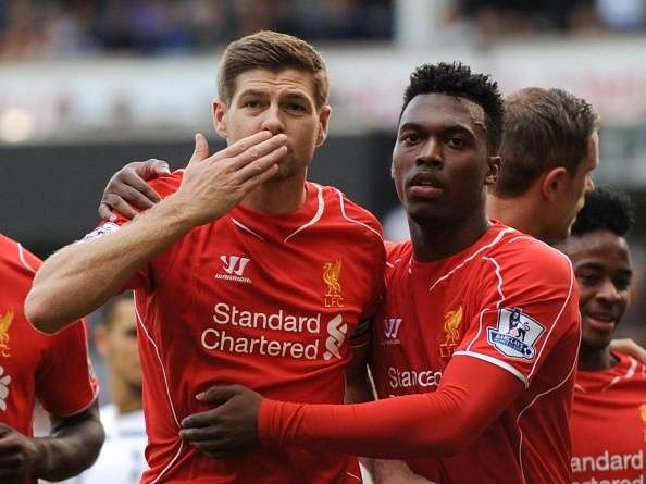 Any striker would have loved to play with Steven Gerrard: Daniel Sturridge