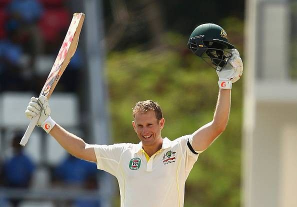 Australia in command after Voges' century