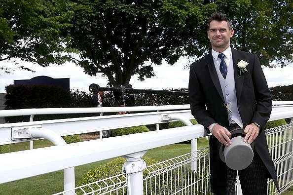 James Anderson named OBE by British Queen