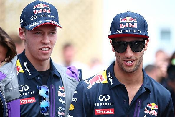 Getting two points the best we could have done: Kvyat