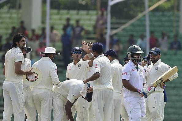 Rain again plays spoilsport, Bangladesh trail by 351 runs
