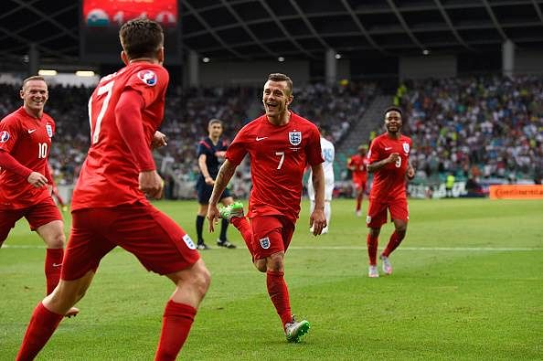 Video: Jack Wilshere scores stunning 25-yard strike against Slovenia
