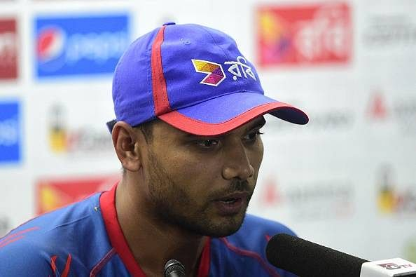 Willing to go the extra mile to play Champions Trophy - Mashrafe Mortaza