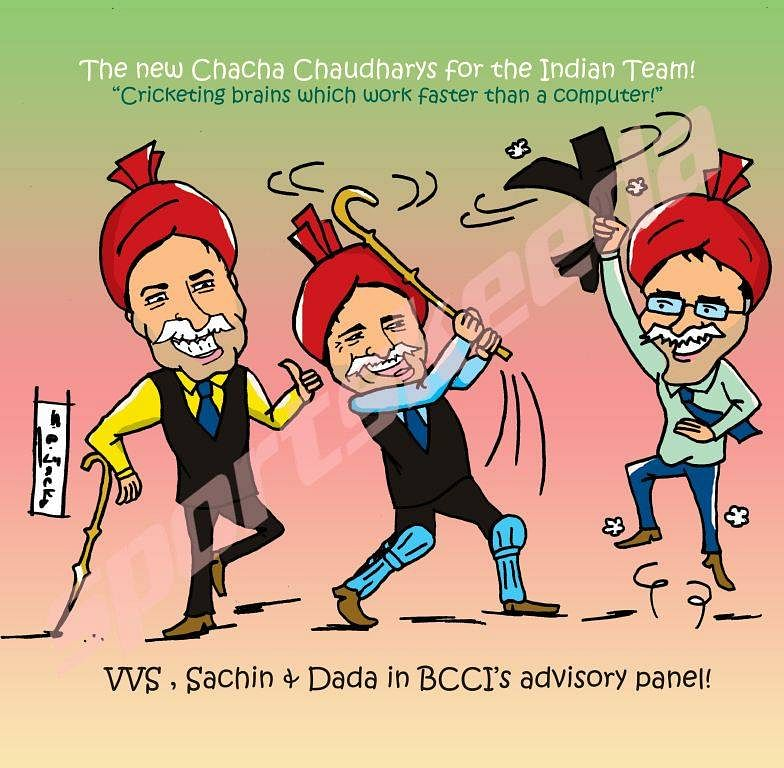 The new Chacha Chaudharys of Indian cricket