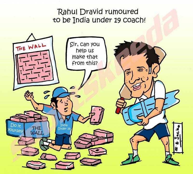 Rahul Dravid rumoured to be coach of India under-19 cricket team