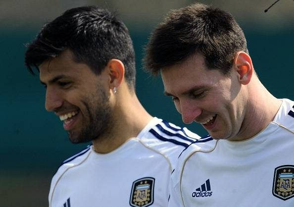 Goals will come for misfiring Messi: Sergio Aguero