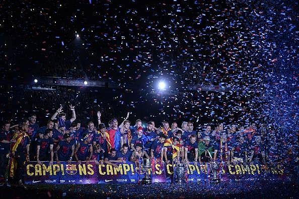 How the treble dream materialised for Barcelona