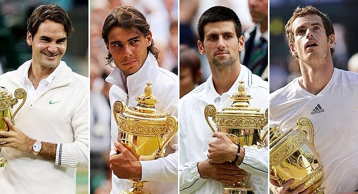 Watch out for the Big 4 at the 2015 Wimbledon Championships