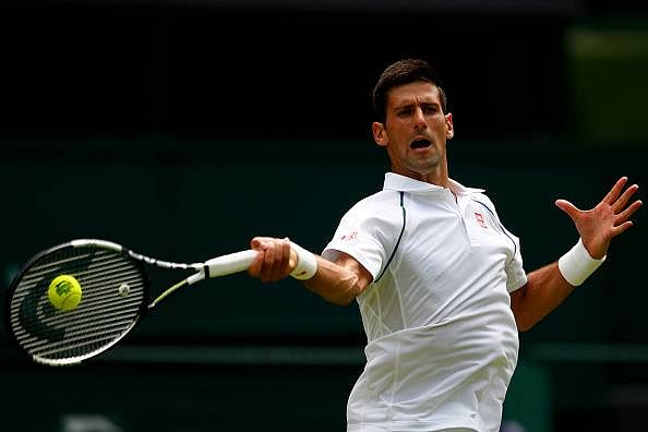 Djokovic, Serena, Sharapova reach second round at Wimbledon