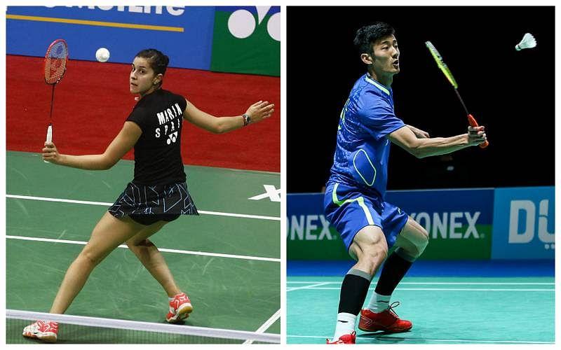 Chen Long, Carolina Marin win titles at Australian Badminton Open