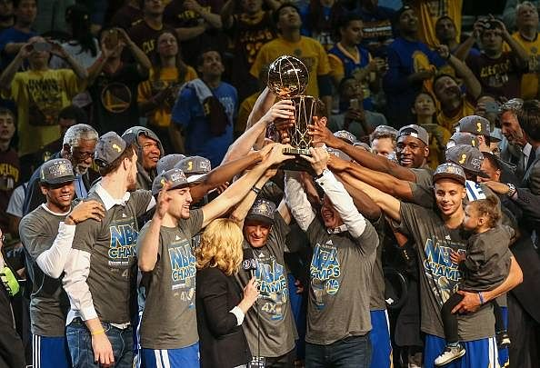 Golden State Warriors win 2014-15 NBA title; beat Cleveland Cavaliers 105-97 in Game 6 to end long wait