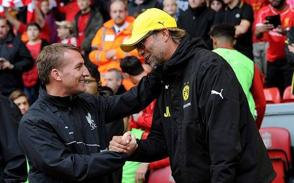 The similarities between Brendan Rodgers and Jurgen Klopp