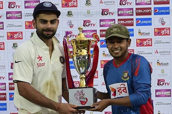 Rain-marred India-Bangladesh Test ends in a tame draw