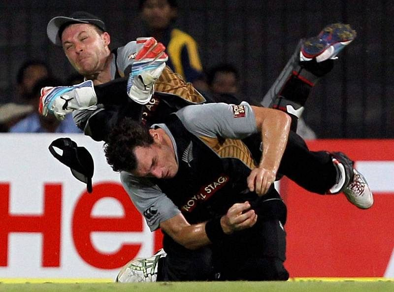 5 worst on-field collisions in cricket